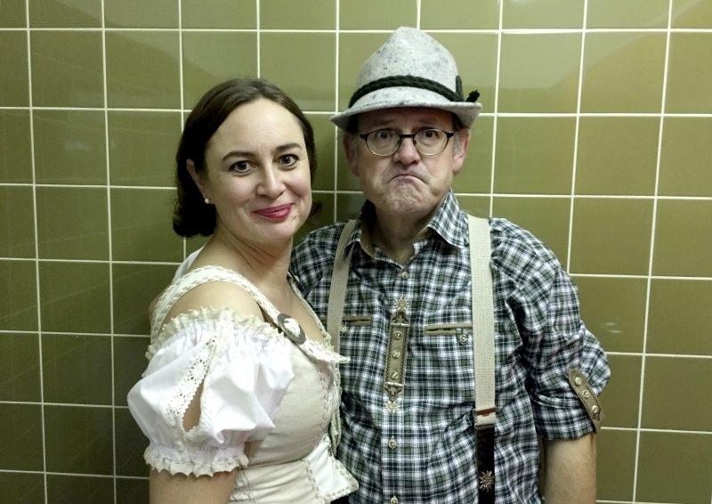 Im Weißen Rössl à trois. Mit Sabine Fischmann und Michael Quast. Am Flügel: Rhodri Britton / Markus Neumeyer.
