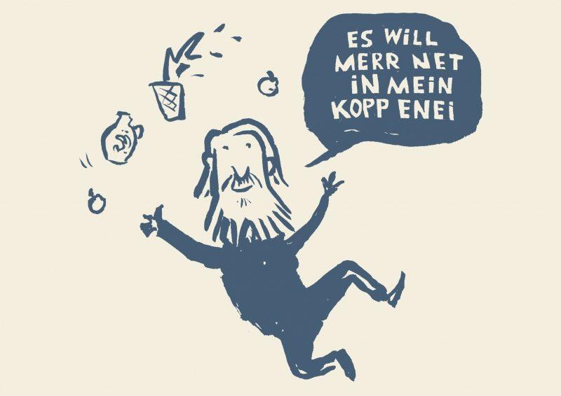 """Es will merr net in mein Kopp enei"". Die Friedrich Stoltze-Revue"