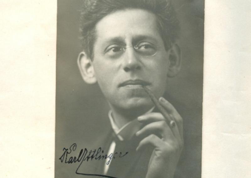 MICHAEL QUAST LIEST<br /> Karl Ettlinger: Benno Stehkragen. Frankfurter Zeitbibliothek (Henrich Editionen)
