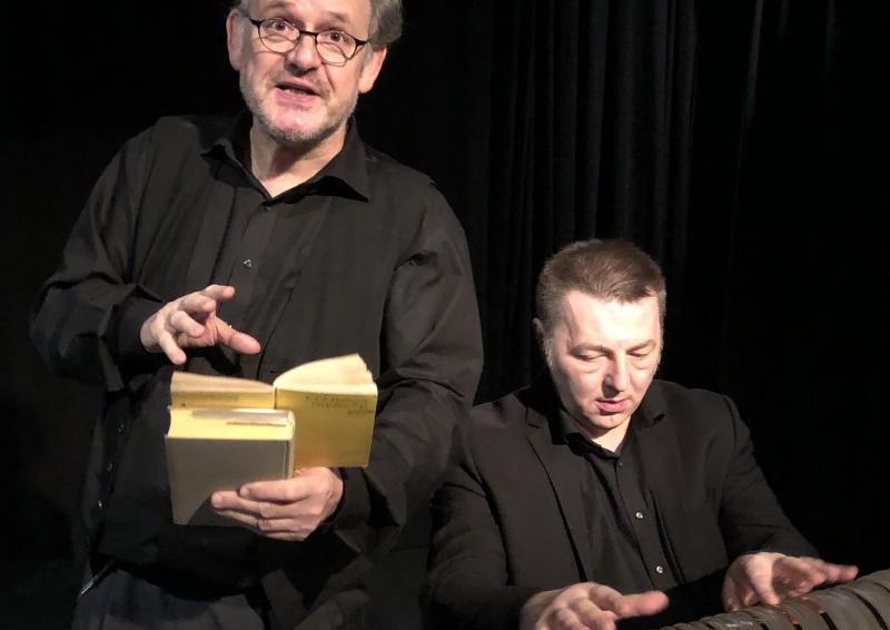 E.T.A. Hoffmann: Der goldne Topf. Begleitung: Bruno Kliegl, Glasharmonika