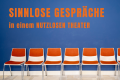 Sinnlose Gespräche in einem nutzlosen Theater.. Eine Online-Serie.