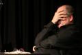"""""""Weil doch die Welt bald unnergeht!"""". Humoristische Grundversorgung Frankforter Art: Michael Quast liest und spielt Gedichte und Geschichten des Frankfurter Mundartdichters und Satirikers Friedrich Stoltze."""