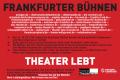 Theater lebt!. Stellungnahme der Frankfurter Theaterallianz zu den Möglichkeiten zur Wiederaufnahme des Spielbetriebs.