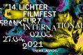 14. LICHTER Filmfest Frankfurt International. Vom 27.4. bis 2.5. aus dem Festivalzentrum Volksbühne im Großen Hirschgraben